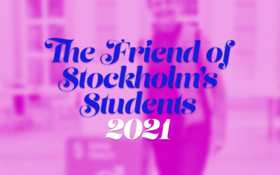 Nomination Request for The Friend of Stockholm's Students 2021